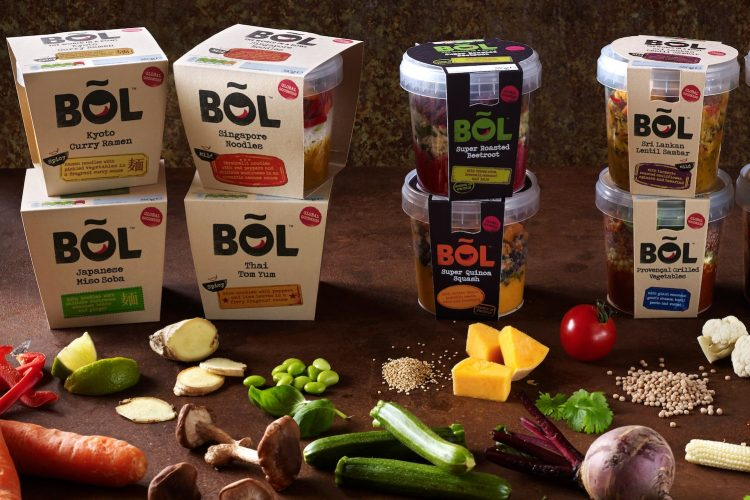 BOL Food offers a range of globally-inspired dishes ? with a one week shelf life