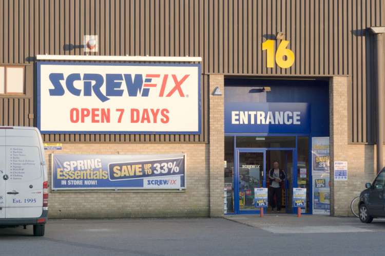 Selling to Screwfix