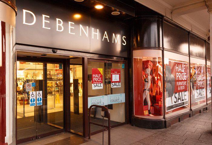 Debenhams named and shamed