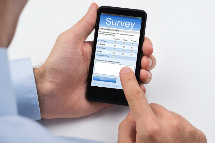 Use a survey to help create a staff training plan