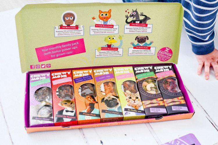 Children's snack box startup