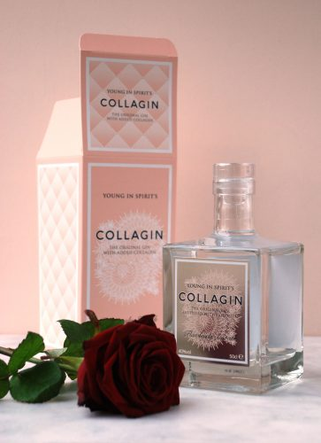CollaGin Valentines Box and Rose