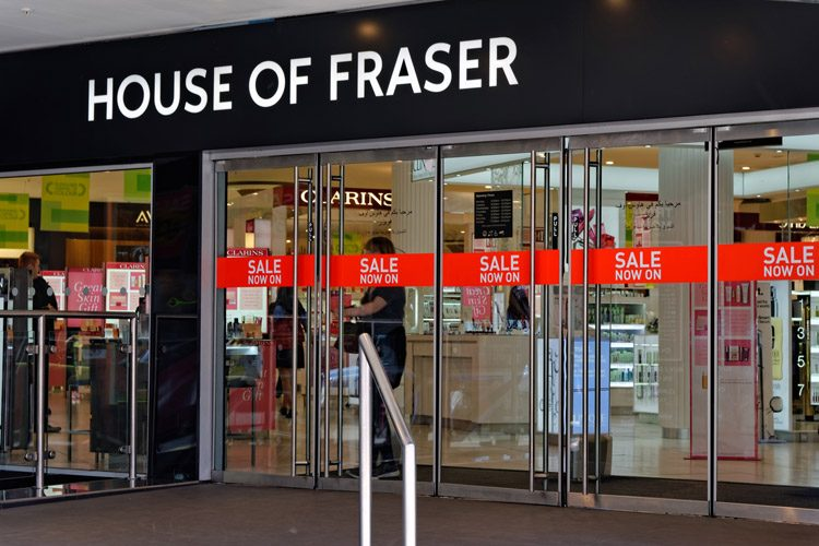 House of Fraser business rates