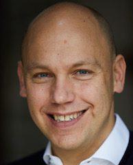 Mark White' portrait