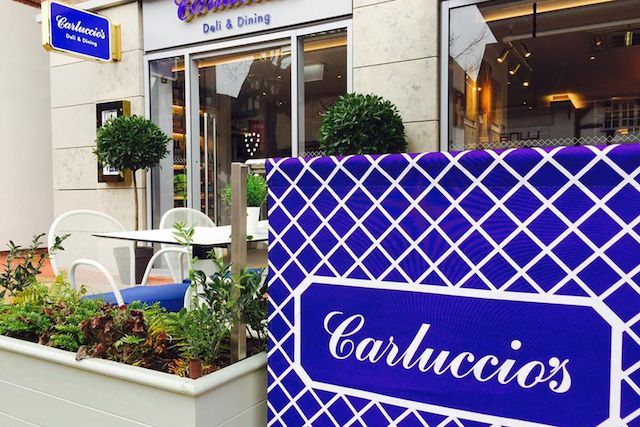 carluccios-closure