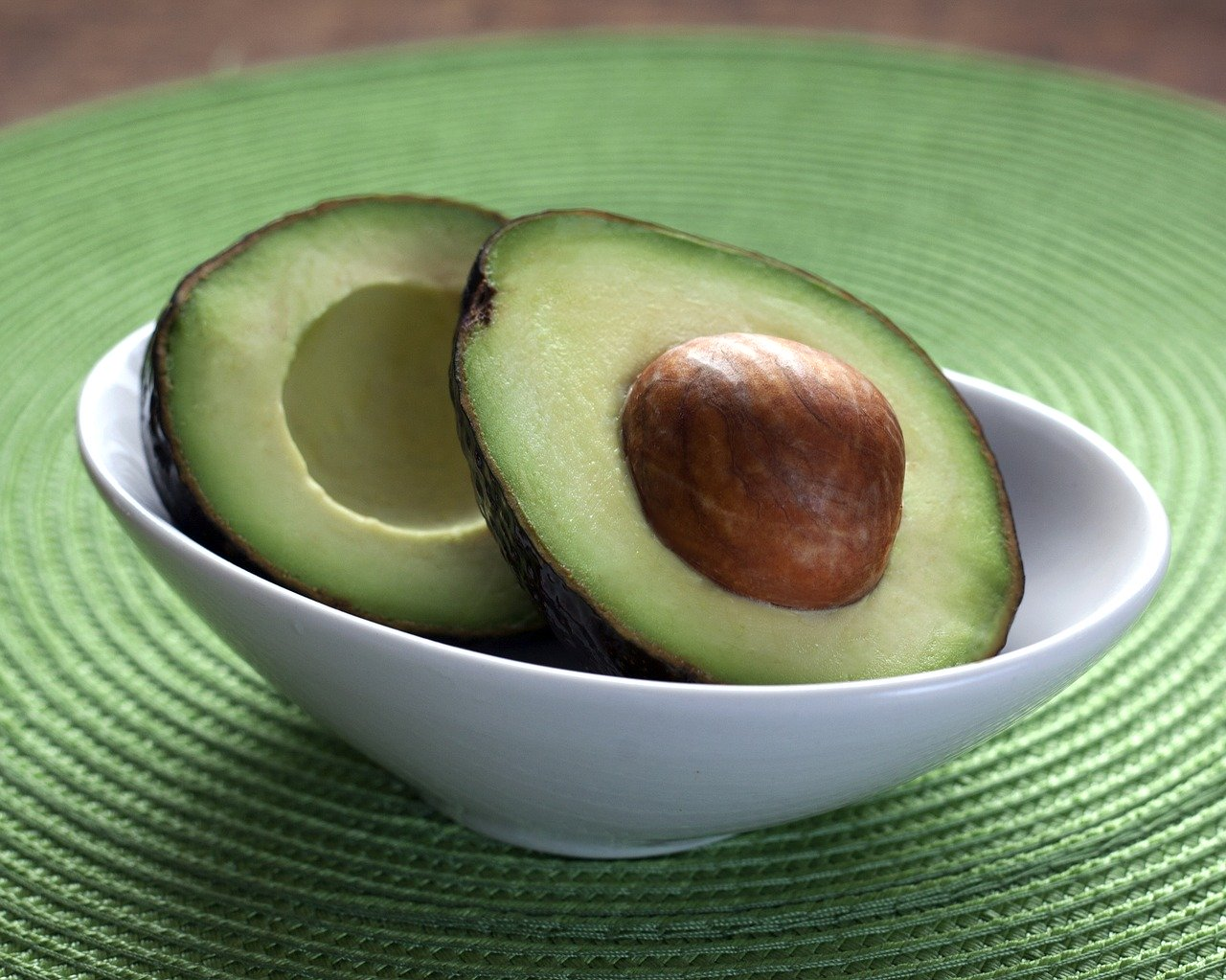 Ripe and ready to eat avocado make a delicious healthy snack