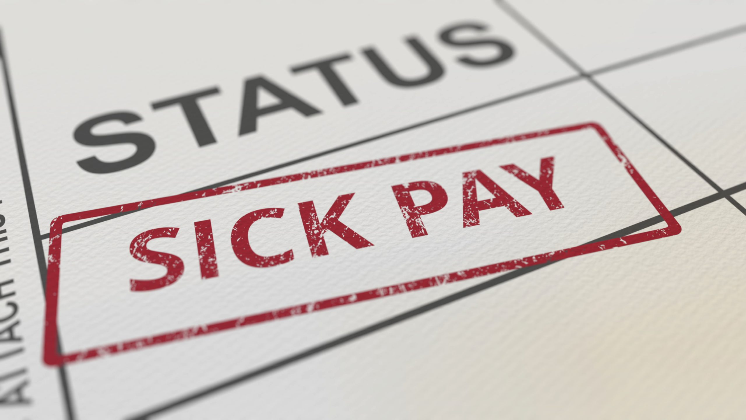 How is statutory sick pay (SSP) calculated?