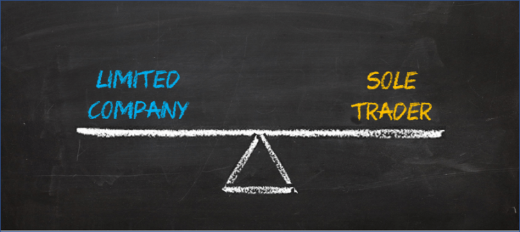 What's the difference between a sole trader and a limited company?