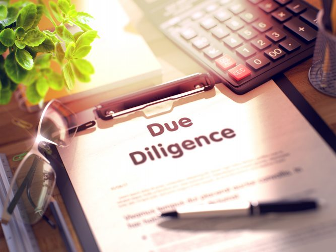 Due diligence when buying a business