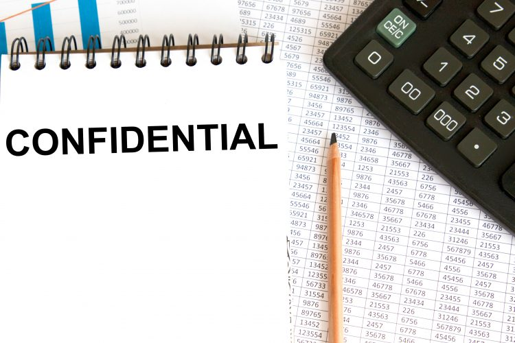 Employee confidentiality & the rules