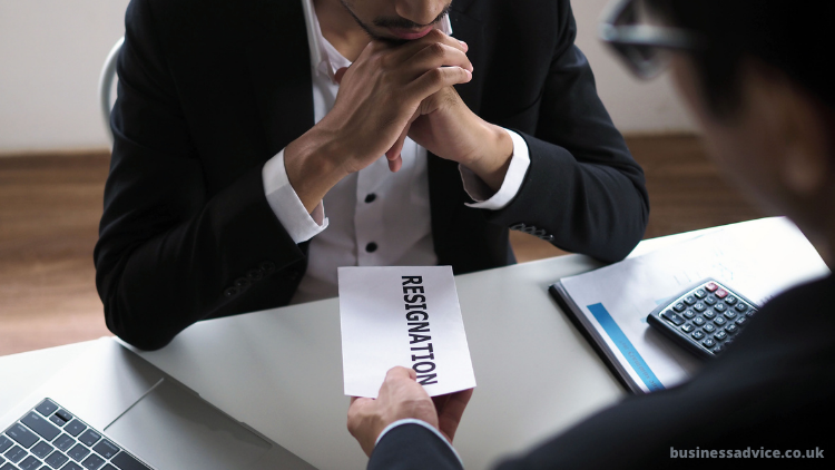 Can a company enforce a notice period