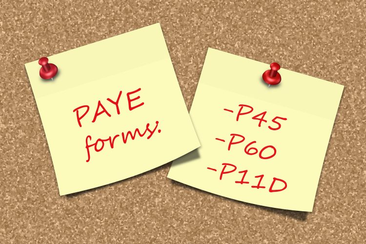 What is the difference between a P45 and a P60?
